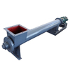 flexible process layout dust coal auger conveyor