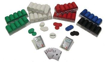 Trademark Commerce 10-1010-1k 1000 Poker Chips Texas Hold-em Set for Blackjack and Roulette