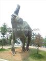 2014 escultura parque de cuello largo dinosaurio