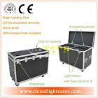 Portable light kits - 28 Watt-lamps, Light Stands and DVD,2014 wonderful trunk flight case