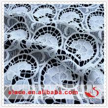 Fashional White Nylon/Polyester Textile Material