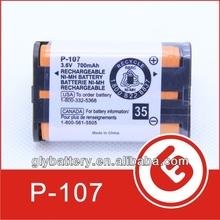 3.6V Rechargeable Battery for Panasonic HHR-P107 HHRP107 KX- KXTG- Radio Shack