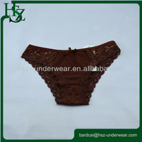 Lace 100% cotton young girl wearing panties