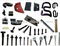 rail bolt,spike,elastic washers,railway fasteners