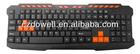 Multimedia game keyboard