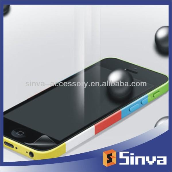 New arrival!!!Anti-shock explosion-proof screen protectors for iphone 5C,TPU material,anti-broken,self-repair,shatter proof