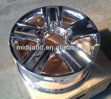 vaccum chrome replica 4x4 SUV alloy wheel with 17\20inch