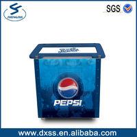 Vintage Pepsi Cola Metal Ice Chest Cooler Box bacardi wine coolers