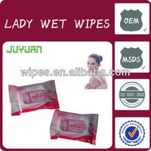 JUYUAN 8pcs 15pcs 22pcs Oem Adult Wipes Wet Tissue
