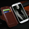 hot selling leather cover for samsung s4, case for samsung galaxy i9500, wallet leather case for samsung galaxy s4
