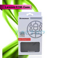 100% genuine free shipping leather case for lenovo p780