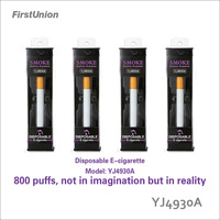 New arrival product disposable soft tip electronic cigarette YJ4930A imperial hookah pen