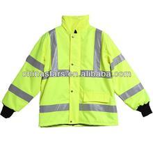 EN471Certified Oxford Warm Keeping Reflective Safety Winter Coat