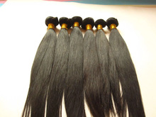 "Unprocessed Wholesale Top Quality 100% Brazilian Virgin Hair 8""-30"" inch Human Hair Extension"