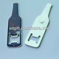 custom promotion beer bottle opener fridge magnet (XD-5420)