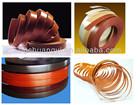 high quality pass SGS test flexible pvc plastic decorative strip
