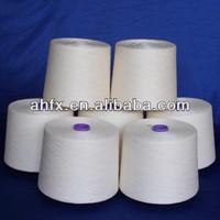 CVC melange yarn for knitting or weaving