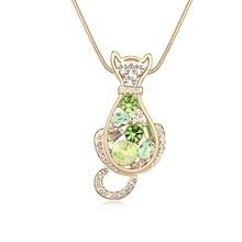 11492 popular ornament 24 karat gold necklace