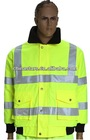 Waterproof Reflective Safety Winter Jacket/ Workwear Big Front Pocket
