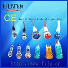 Wenzhou FILN Colorful Lamp Plastic 10mm DC 24V led Pilot light