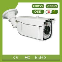 1/3 SONY CCD 700TVL IR digital camera with OSD 52pcs LED 8mm CS lens with bracket video camera(TL-IR011)