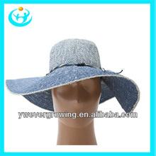 ladies cheap fashion wide brim summer straw hat