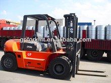 Isuzu 10 ton diesel forklift with 3 stage mast, lift height 4.5 meters 5 meters 6meters