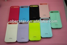 TPU fluorescence phone case cover for iphone 5/ lighting smart cover for iphone 5