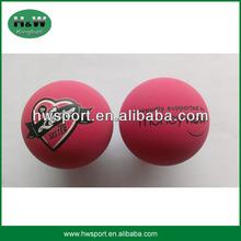 heat tranfer printing hollow hi bouncing ball