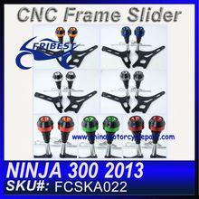 For KAWASAKI NINJA 300 2013 FCSKA022 Motorcycle Frame Sliders