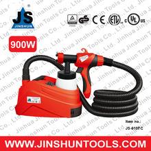 JS 800ml Electric HVLP Air Spray Gun Kit 900W Motor Paint Sprayer JS-910FC