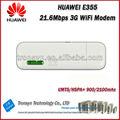 Brand new original déverrouiller. hspa 21.6 2mbps e355 3g wifi, huawei modem routeur adsl wifi et pilote