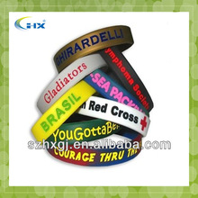 G-2014 China Manufacturer I Love One Direction 1d Bracelet Silicone Wristband