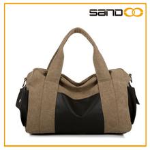 2014 Wholesale fashion washed canvas duffle bag travel