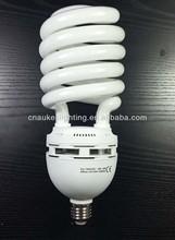 cfl bulb 105w Half Spiral 150W energy saving light 65lm/w RA 80 10000hrs