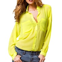 women casual blouse baju