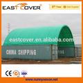 pvc tela de la cubierta contenedores cobertizos