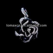 New diamond black rose jewelry usb flash memory drive