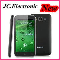 Original ZOPO ZP820 5 inch Quad Core Smartphone MTK6582 1.3GHz ZP 820 Raiden IPS 960*540 8mp 1GB RAM Android 4.2 OS GPS 3G