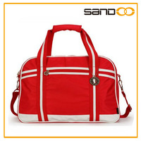 2014 China factory fashionable polyester gymnastic duffle bags