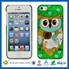 C&T Gold stamping owl mobile phone case for iphone 5s