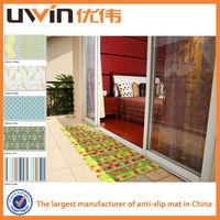 Printed PVC foam decorative vinyl door covering