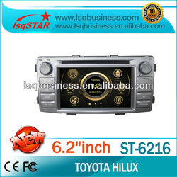 high quality LSQstar car gps radio for toyota hilux 2012 with dvd/bluetooth/TV/ipod/3G on-sale!hot!drive your life!