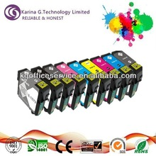 Guaranteed quality ink cartridge T1571 to T1579 for Epson inkjet printers,with Professional testing