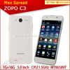 ZOPO C3 Smartphone MTK6589T 1.5GHz 5.0 Inch FHD Screen Android 4.2 1G+16G zte mobile phones