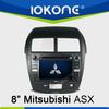 Mitsubishi ASX in dash 2din car touch screen DVD automotive GPS navigation