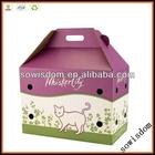 Sowisdom cardboard pet carrier box