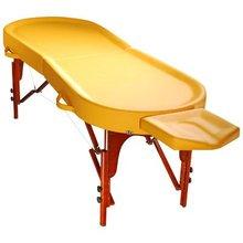 """Mirage Taffy Oil"" massage therapy salon table"