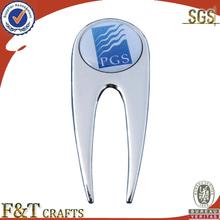 magnetic metal golf ball marker hat clip divot tool