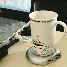 4 Port USB Coffee Cup Warmer Heater